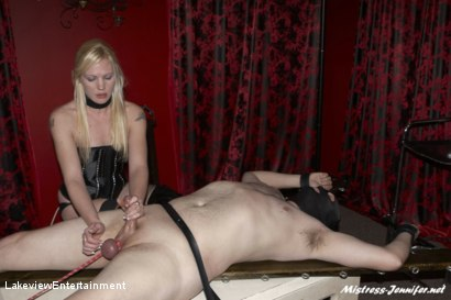 Photo number 16 from CBT Session shot for Lakeview Entertainment on Kink.com. Featuring Mistress Ariel and Slave David in hardcore BDSM & Fetish porn.