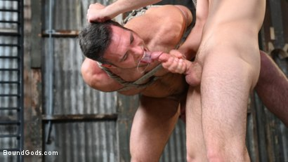 Photo number 14 from My Brother's Discipline: Michael DelRay Punishes Step-Bro Alex Mecum shot for Bound Gods on Kink.com. Featuring Michael DelRay and Alex Mecum in hardcore BDSM & Fetish porn.