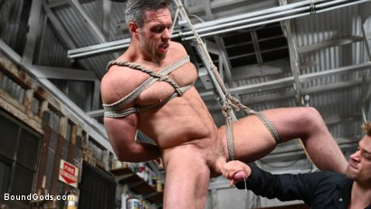 Photo number 15 from My Brother's Discipline: Michael DelRay Punishes Step-Bro Alex Mecum shot for Bound Gods on Kink.com. Featuring Michael DelRay and Alex Mecum in hardcore BDSM & Fetish porn.