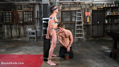 Photo number 7 from My Brother's Discipline: Michael DelRay Punishes Step-Bro Alex Mecum shot for Bound Gods on Kink.com. Featuring Michael DelRay and Alex Mecum in hardcore BDSM & Fetish porn.