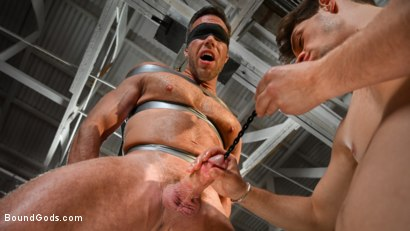 Photo number 8 from My Brother's Discipline: Michael DelRay Punishes Step-Bro Alex Mecum shot for Bound Gods on Kink.com. Featuring Michael DelRay and Alex Mecum in hardcore BDSM & Fetish porn.