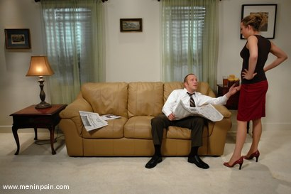 Photo number 2 from Gwen Diamond and Billy shot for Men In Pain on Kink.com. Featuring Billy and Gwen Diamond in hardcore BDSM & Fetish porn.