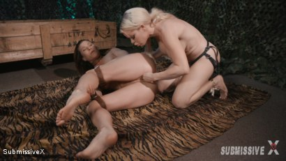 Photo number 9 from Hungry Native is going to eat Ariel's Ass shot for Submissive X on Kink.com. Featuring Nikki Delano and Ariel X in hardcore BDSM & Fetish porn.