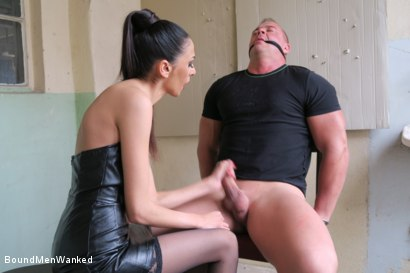 Photo number 11 from BMW Ashley Ocean shot for Bound Men Wanked on Kink.com. Featuring Ashley Ocean and Alex in hardcore BDSM & Fetish porn.