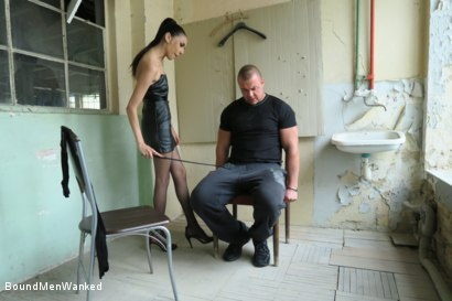 Photo number 15 from BMW Ashley Ocean shot for Bound Men Wanked on Kink.com. Featuring Ashley Ocean and Alex in hardcore BDSM & Fetish porn.