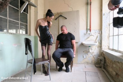 Photo number 16 from BMW Ashley Ocean shot for Bound Men Wanked on Kink.com. Featuring Ashley Ocean and Alex in hardcore BDSM & Fetish porn.