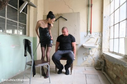 Photo number 4 from BMW Ashley Ocean shot for Bound Men Wanked on Kink.com. Featuring Ashley Ocean and Alex in hardcore BDSM & Fetish porn.