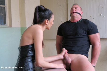 Photo number 8 from BMW Ashley Ocean shot for Bound Men Wanked on Kink.com. Featuring Ashley Ocean and Alex in hardcore BDSM & Fetish porn.