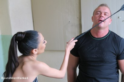 Photo number 10 from BMW Ashley Ocean shot for Bound Men Wanked on Kink.com. Featuring Ashley Ocean and Alex in hardcore BDSM & Fetish porn.
