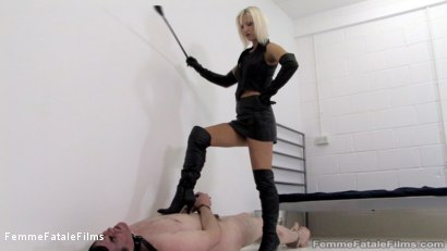 Photo number 6 from The Confession - Part 2 shot for Femme Fatale Films on Kink.com. Featuring Mistress Vixen and Slave in hardcore BDSM & Fetish porn.