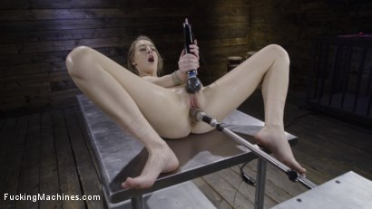 Photo number 16 from Cadence Lux: Suspension Bondage, Sybian, and Squirting Orgasms shot for Fucking Machines on Kink.com. Featuring Cadence Lux in hardcore BDSM & Fetish porn.