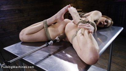 Photo number 25 from Cadence Lux: Suspension Bondage, Sybian, and Squirting Orgasms shot for Fucking Machines on Kink.com. Featuring Cadence Lux in hardcore BDSM & Fetish porn.