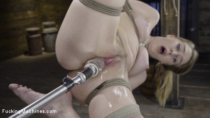 Photo number 5 from Cadence Lux: Suspension Bondage, Sybian, and Squirting Orgasms shot for Fucking Machines on Kink.com. Featuring Cadence Lux in hardcore BDSM & Fetish porn.