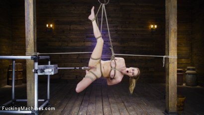 Cadence Lux: Suspension Bondage, Sybian, and Squirting Orgasms
