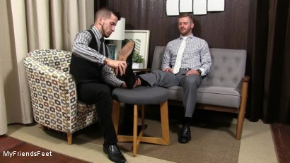 Photo number 2 from Justin Worships Sean Holmes shot for My Friends Feet on Kink.com. Featuring Sean Holmes  and Justin Case in hardcore BDSM & Fetish porn.