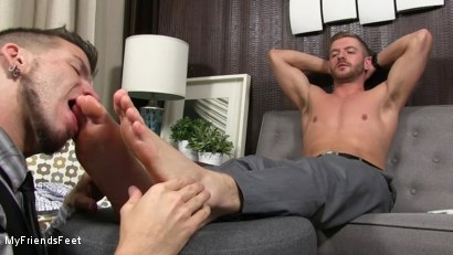 Photo number 13 from Justin Worships Sean Holmes shot for My Friends Feet on Kink.com. Featuring Sean Holmes  and Justin Case in hardcore BDSM & Fetish porn.