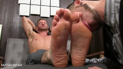 Photo number 15 from Justin Worships Sean Holmes shot for My Friends Feet on Kink.com. Featuring Sean Holmes  and Justin Case in hardcore BDSM & Fetish porn.