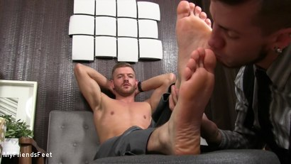 Photo number 17 from Justin Worships Sean Holmes shot for My Friends Feet on Kink.com. Featuring Sean Holmes  and Justin Case in hardcore BDSM & Fetish porn.