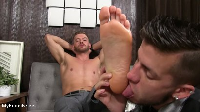 Photo number 18 from Justin Worships Sean Holmes shot for My Friends Feet on Kink.com. Featuring Sean Holmes  and Justin Case in hardcore BDSM & Fetish porn.