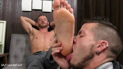 Photo number 19 from Justin Worships Sean Holmes shot for My Friends Feet on Kink.com. Featuring Sean Holmes  and Justin Case in hardcore BDSM & Fetish porn.