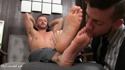 Photo number 20 from Justin Worships Sean Holmes shot for My Friends Feet on Kink.com. Featuring Sean Holmes  and Justin Case in hardcore BDSM & Fetish porn.