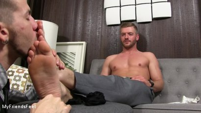 Photo number 10 from Justin Worships Sean Holmes shot for My Friends Feet on Kink.com. Featuring Sean Holmes  and Justin Case in hardcore BDSM & Fetish porn.