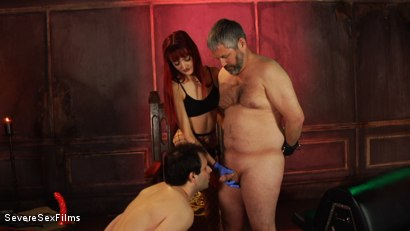 Photo number 14 from Dick-O-Rama Fun for Sub Slut Marcelo shot for Severe Sex Films on Kink.com. Featuring Andi Rye, Marcelo and Jimmy Broadway in hardcore BDSM & Fetish porn.