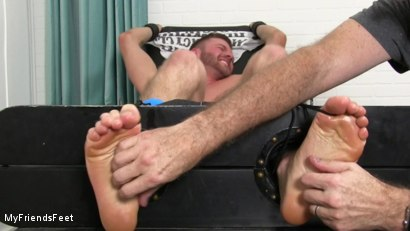 Photo number 19 from Sean Holmes Tickled Naked shot for My Friends Feet on Kink.com. Featuring Sean Holmes  and Rich in hardcore BDSM & Fetish porn.