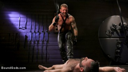 Photo number 1 from SEX RELIEF: New boy's self care is BDSM shot for Bound Gods on Kink.com. Featuring Colby Jansen and Buster Rhodes in hardcore BDSM & Fetish porn.
