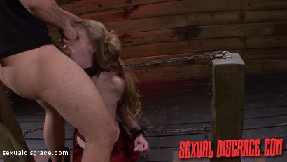 Photo number 4 from Jayden Rae is her Master's Cock Begging Slut shot for Sexual Disgrace on Kink.com. Featuring Jayden Rae and James Kickstand in hardcore BDSM & Fetish porn.