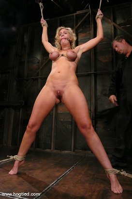 Photo number 7 from Kylie Worthy shot for Hogtied on Kink.com. Featuring Kylie Worthy in hardcore BDSM & Fetish porn.