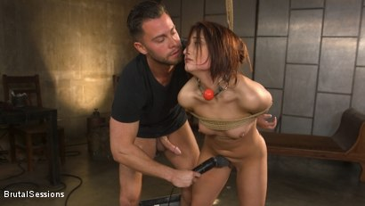 Photo number 12 from Tiny Sex Kitten Isabella Nice Submits in Rope Bondage and Anal Fucking shot for Brutal Sessions on Kink.com. Featuring Seth Gamble and Isabella Nice in hardcore BDSM & Fetish porn.