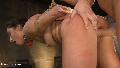 Photo number 13 from Tiny Sex Kitten Isabella Nice Submits in Rope Bondage and Anal Fucking shot for Brutal Sessions on Kink.com. Featuring Seth Gamble and Isabella Nice in hardcore BDSM & Fetish porn.