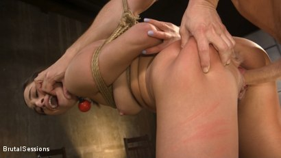 Photo number 14 from Tiny Sex Kitten Isabella Nice Submits in Rope Bondage and Anal Fucking shot for Brutal Sessions on Kink.com. Featuring Seth Gamble and Isabella Nice in hardcore BDSM & Fetish porn.