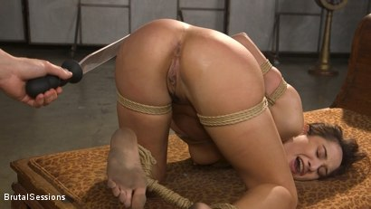 Photo number 21 from Tiny Sex Kitten Isabella Nice Submits in Rope Bondage and Anal Fucking shot for Brutal Sessions on Kink.com. Featuring Seth Gamble and Isabella Nice in hardcore BDSM & Fetish porn.