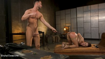 Photo number 30 from Tiny Sex Kitten Isabella Nice Submits in Rope Bondage and Anal Fucking shot for Brutal Sessions on Kink.com. Featuring Seth Gamble and Isabella Nice in hardcore BDSM & Fetish porn.