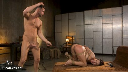Photo number 31 from Tiny Sex Kitten Isabella Nice Submits in Rope Bondage and Anal Fucking shot for Brutal Sessions on Kink.com. Featuring Seth Gamble and Isabella Nice in hardcore BDSM & Fetish porn.