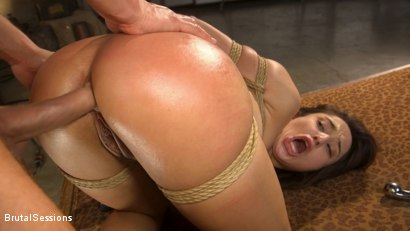Photo number 37 from Tiny Sex Kitten Isabella Nice Submits in Rope Bondage and Anal Fucking shot for Brutal Sessions on Kink.com. Featuring Seth Gamble and Isabella Nice in hardcore BDSM & Fetish porn.