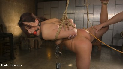 Photo number 5 from Tiny Sex Kitten Isabella Nice Submits in Rope Bondage and Anal Fucking shot for Brutal Sessions on Kink.com. Featuring Seth Gamble and Isabella Nice in hardcore BDSM & Fetish porn.
