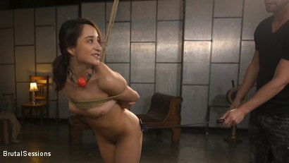 Photo number 7 from Tiny Sex Kitten Isabella Nice Submits in Rope Bondage and Anal Fucking shot for Brutal Sessions on Kink.com. Featuring Seth Gamble and Isabella Nice in hardcore BDSM & Fetish porn.