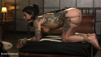 Photo number 14 from Joanna Angel Punished with Rope Bondage and Rough Anal shot for Brutal Sessions on Kink.com. Featuring Stirling Cooper  and Joanna Angel in hardcore BDSM & Fetish porn.