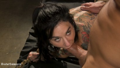 Photo number 18 from Joanna Angel Punished with Rope Bondage and Rough Anal shot for Brutal Sessions on Kink.com. Featuring Stirling Cooper  and Joanna Angel in hardcore BDSM & Fetish porn.