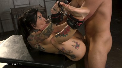 Photo number 26 from Joanna Angel Punished with Rope Bondage and Rough Anal shot for Brutal Sessions on Kink.com. Featuring Stirling Cooper  and Joanna Angel in hardcore BDSM & Fetish porn.