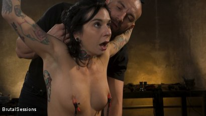 Photo number 8 from Joanna Angel Punished with Rope Bondage and Rough Anal shot for Brutal Sessions on Kink.com. Featuring Stirling Cooper  and Joanna Angel in hardcore BDSM & Fetish porn.