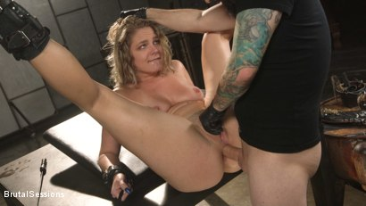 Photo number 15 from All Natural Blonde Babe Lisey Sweet Ass-Fucked and Abused in Bondage shot for Brutal Sessions on Kink.com. Featuring Tommy Pistol and Lisey Sweet in hardcore BDSM & Fetish porn.