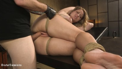Photo number 20 from All Natural Blonde Babe Lisey Sweet Ass-Fucked and Abused in Bondage shot for Brutal Sessions on Kink.com. Featuring Tommy Pistol and Lisey Sweet in hardcore BDSM & Fetish porn.