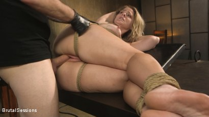 Photo number 21 from All Natural Blonde Babe Lisey Sweet Ass-Fucked and Abused in Bondage shot for Brutal Sessions on Kink.com. Featuring Tommy Pistol and Lisey Sweet in hardcore BDSM & Fetish porn.