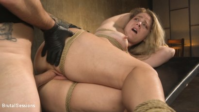 Photo number 22 from All Natural Blonde Babe Lisey Sweet Ass-Fucked and Abused in Bondage shot for Brutal Sessions on Kink.com. Featuring Tommy Pistol and Lisey Sweet in hardcore BDSM & Fetish porn.