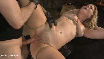 Photo number 24 from All Natural Blonde Babe Lisey Sweet Ass-Fucked and Abused in Bondage shot for Brutal Sessions on Kink.com. Featuring Tommy Pistol and Lisey Sweet in hardcore BDSM & Fetish porn.