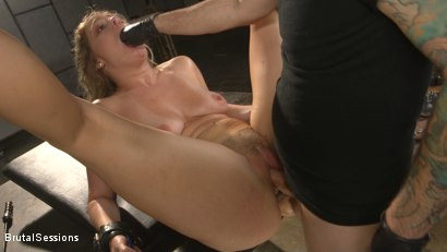 Photo number 10 from All Natural Blonde Babe Lisey Sweet Ass-Fucked and Abused in Bondage shot for Brutal Sessions on Kink.com. Featuring Tommy Pistol and Lisey Sweet in hardcore BDSM & Fetish porn.